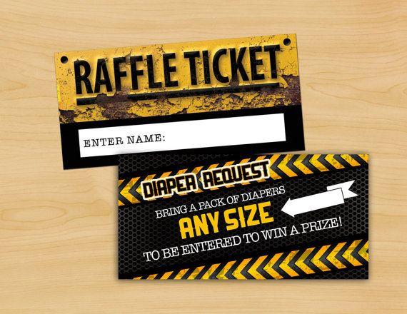 raffle ticket poster ideas