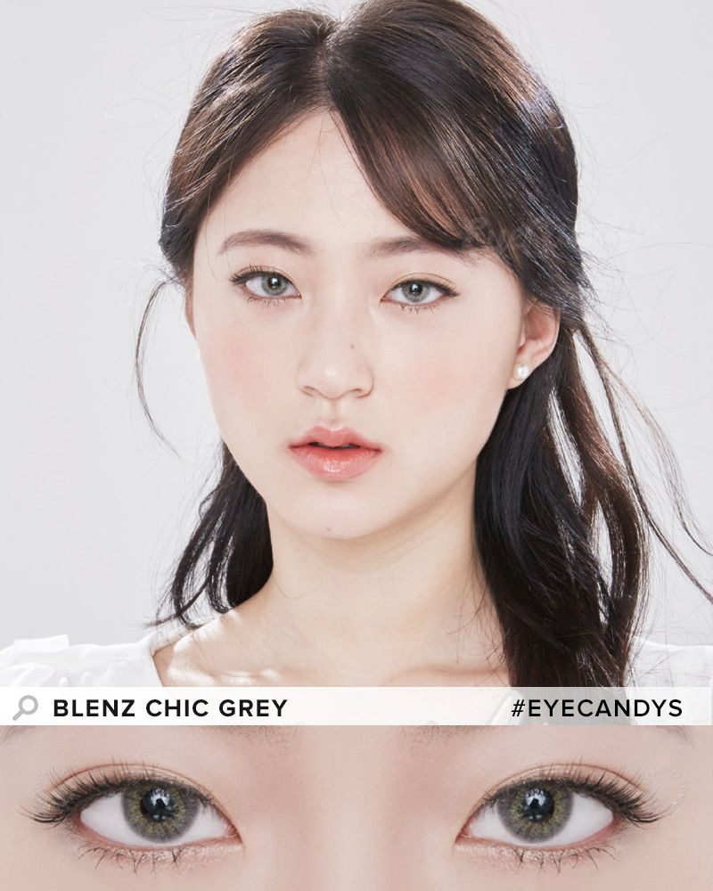 Geo Blenz Chic Grey In 2018 Natural Circle Lenses Pinterest Softlens Lovely Girl Sweety Brown Featuring A Blend Of 3 Complementary Tones Carefully Sandwiched Between Ultra Moist Breathable Soft Lens