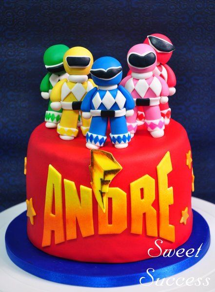 Power Rangers Cake Power Ranger Cake Power Ranger Birthday