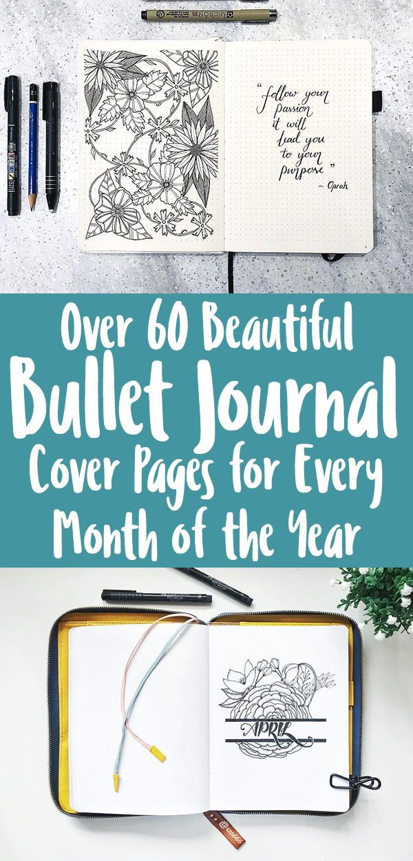 Bullet Journal Cover Page Ideas 2020 Bullet Journal Cover Page Journal Covers Bullet Journal Front Page