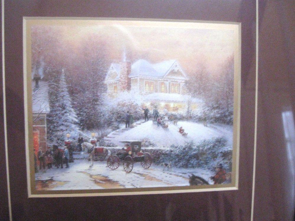 Great Christmas Gift Thomas Kinkade Victorian Christmas Past
