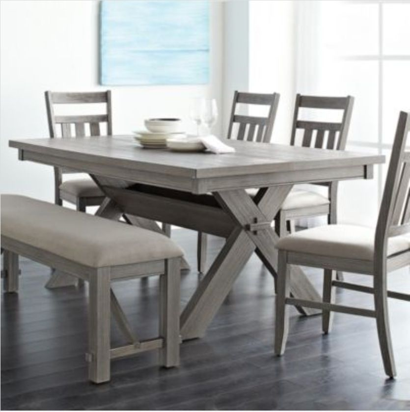 Dining Table Bench Great To Have It Padded Dining Room