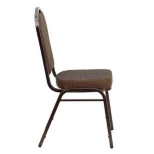 Incredible Hercules Series Crown Back Stacking Banquet Chair In Brown Spiritservingveterans Wood Chair Design Ideas Spiritservingveteransorg