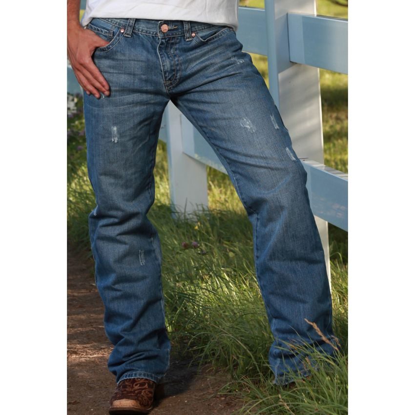 B. Tuff Mens Risky Boot Cut Jeans