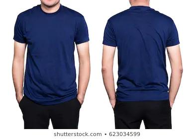 Download Blank Tee Shirts Vector Blue Google Search Kaos Baju Kaos Biru Dongker