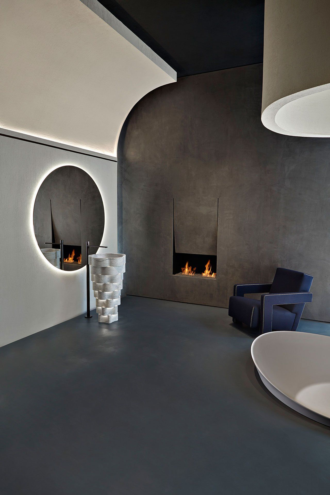 An Interview with Italian Design Duo Calvi Brambilla | Fireplace ...