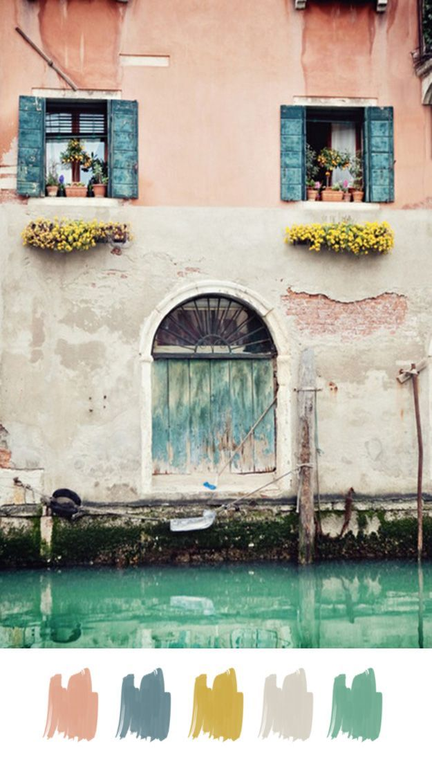 exterior Inspire Me Pinterest Italian colors, Color stories