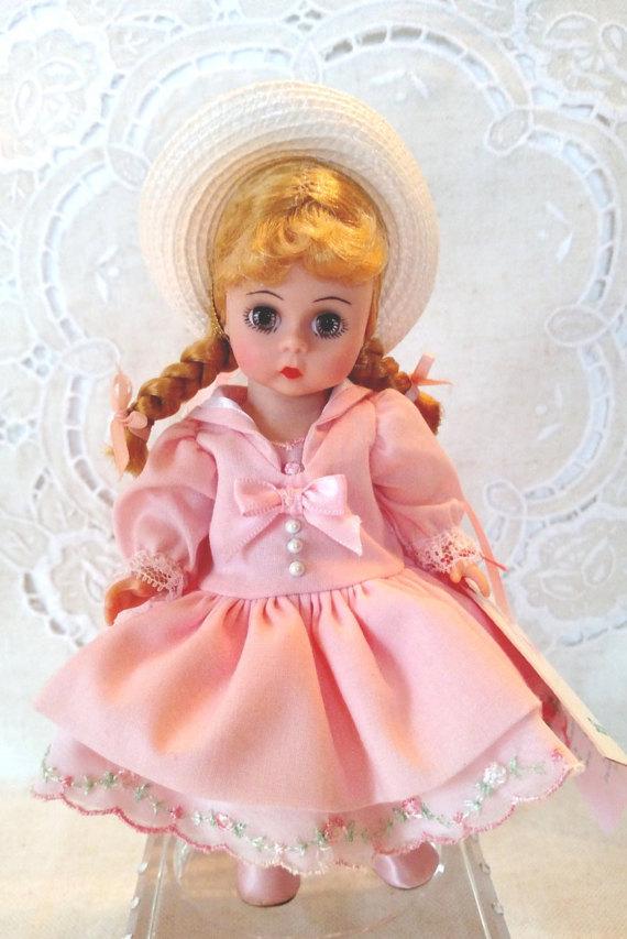 Madame Alexander White Slip for 8/'/' Dolls