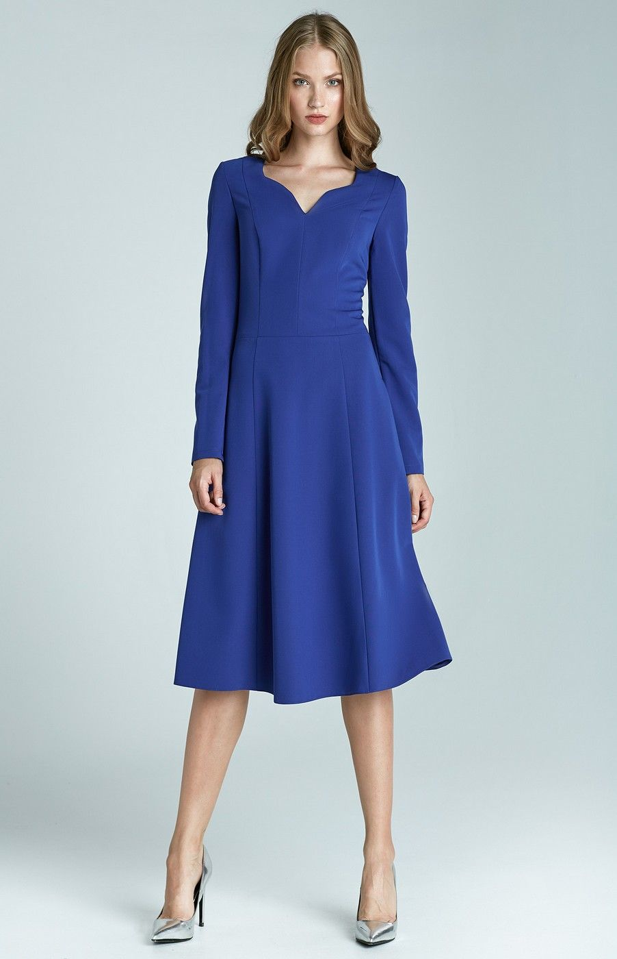 Excellent long sleeve cocktail dresses blue long sleeve cocktail