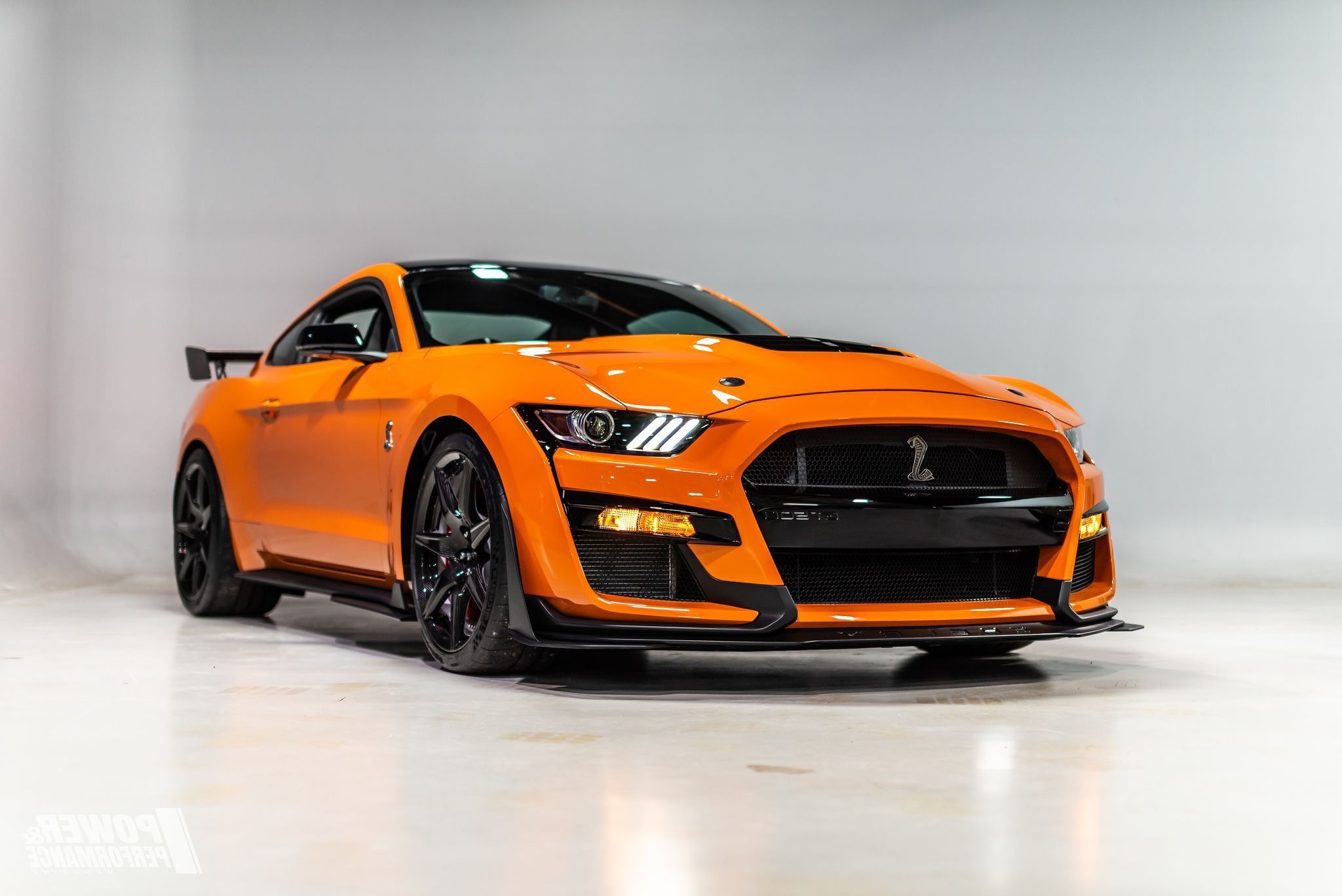 2020 Orange Ford Mustang Shelby Gt500 Ford Mustang Shelby Ford