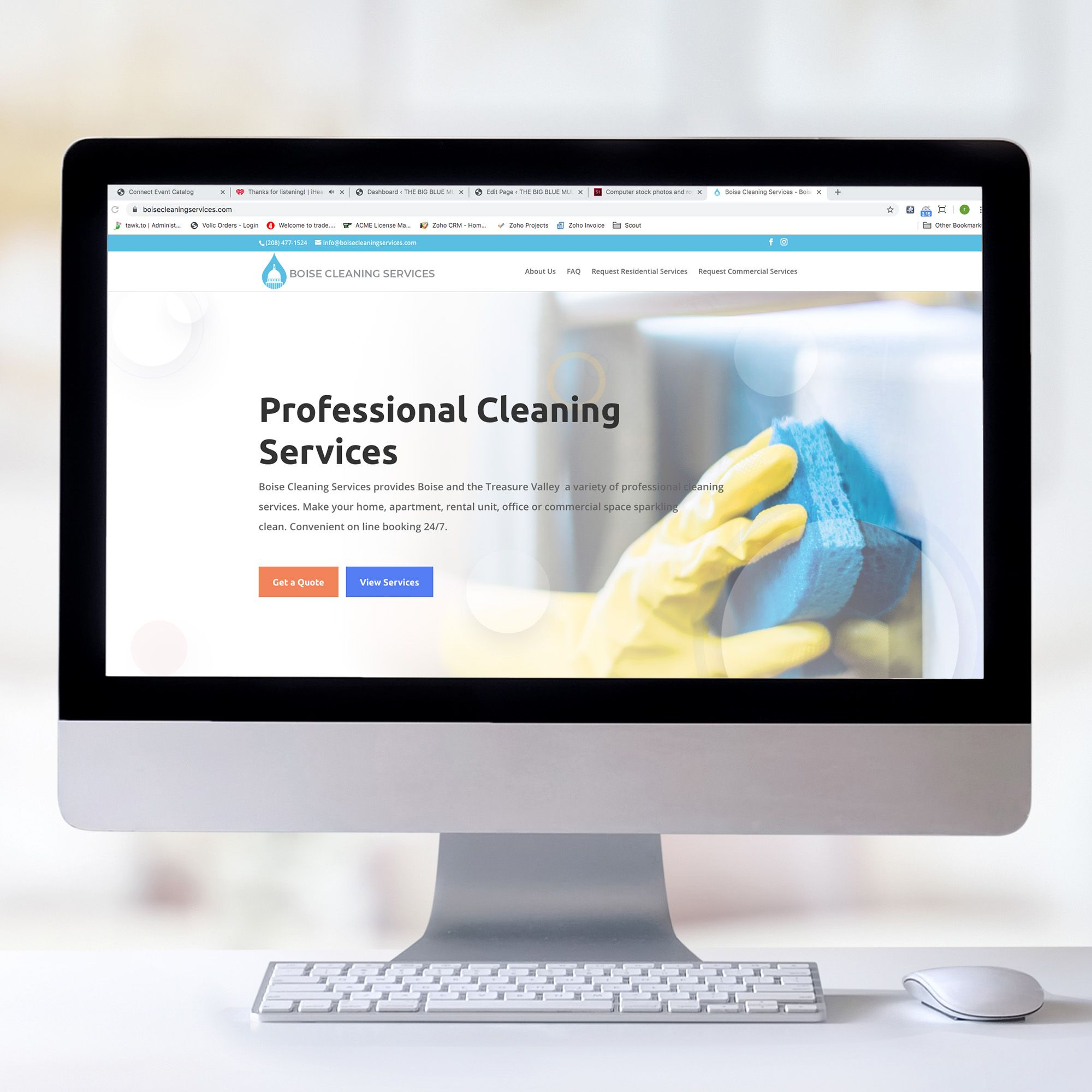 Website Design E Commerce Website Design Professional Cleaning Services Cleaning Service