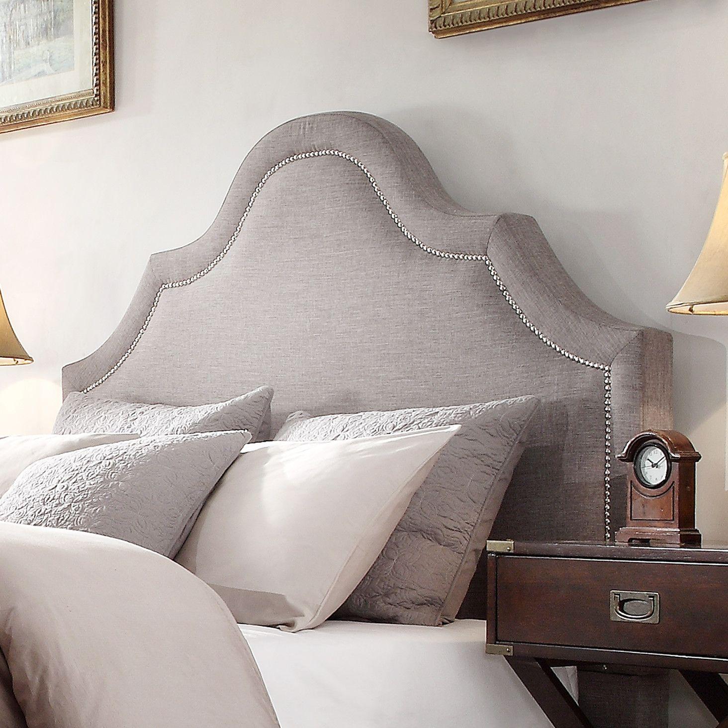 Kingstown Bedroom Furniture Alaoui Upholstered Panel Headboard Home Upholstered Headboards