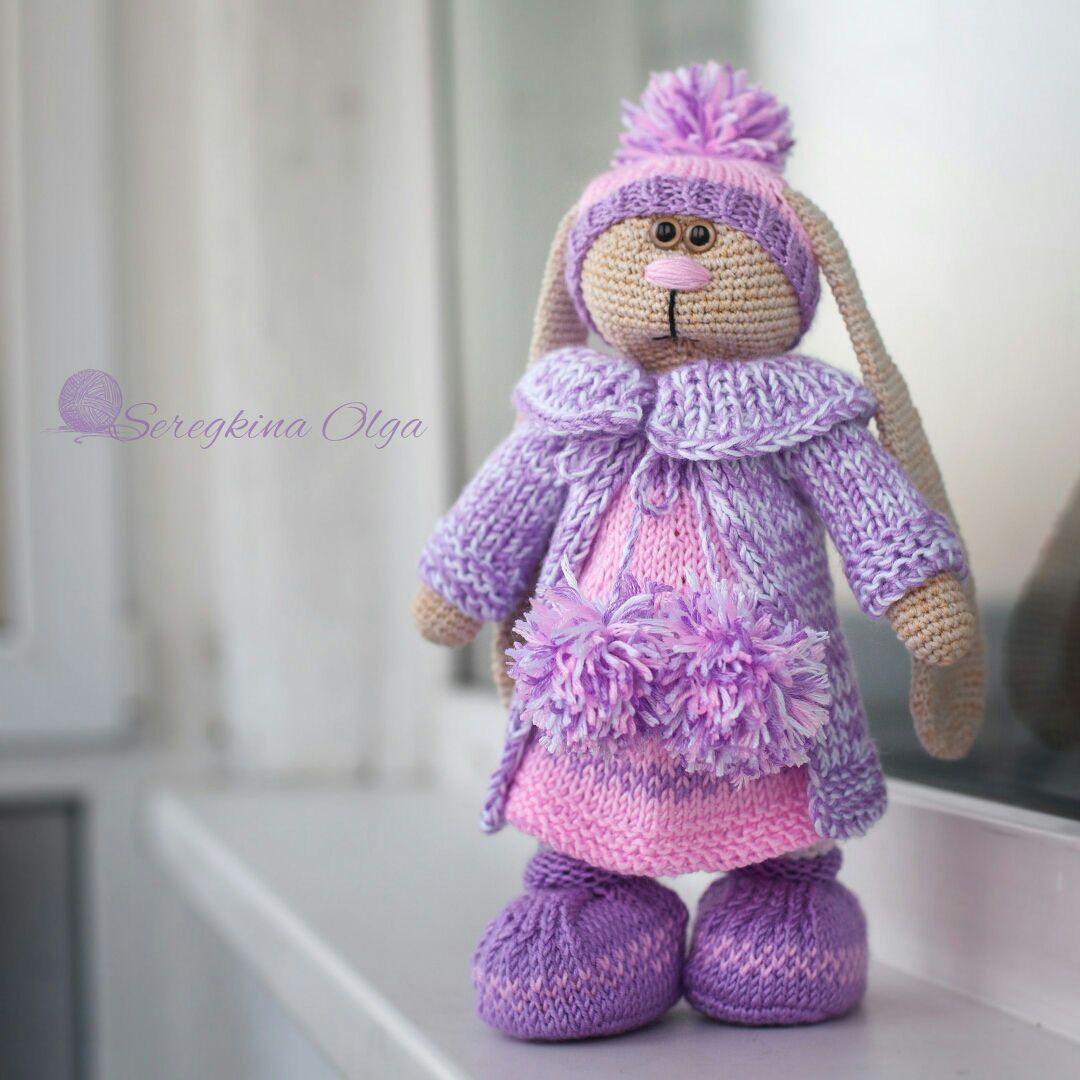 купить вязаный заяц заяц заяц тильда заяц крючком заяц игрушка