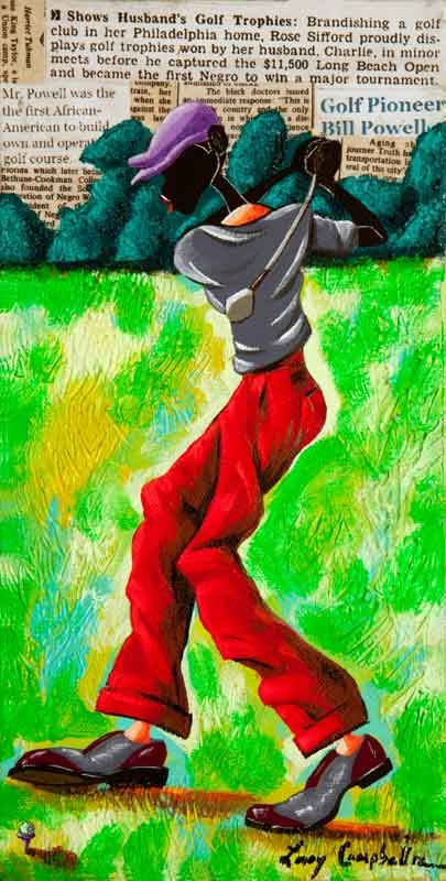 Leroy Campbell Originals | Originals | African american artwork, African  american artist, Art
