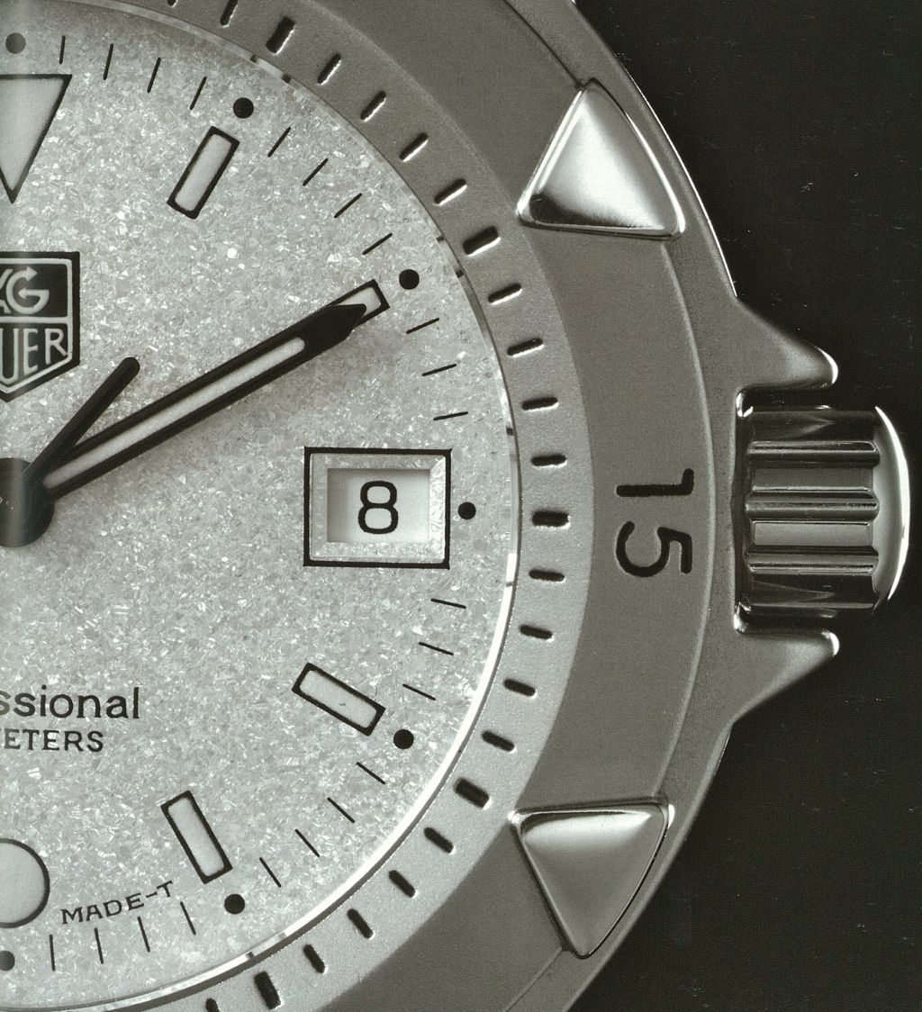 Tag Heuer 1500 With Granite Face Old School Ftw Tag Heuer Tags Tag Heuer Watch