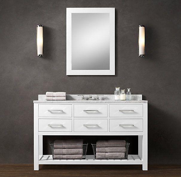 Hutton Single Extra Wide Washstand Design