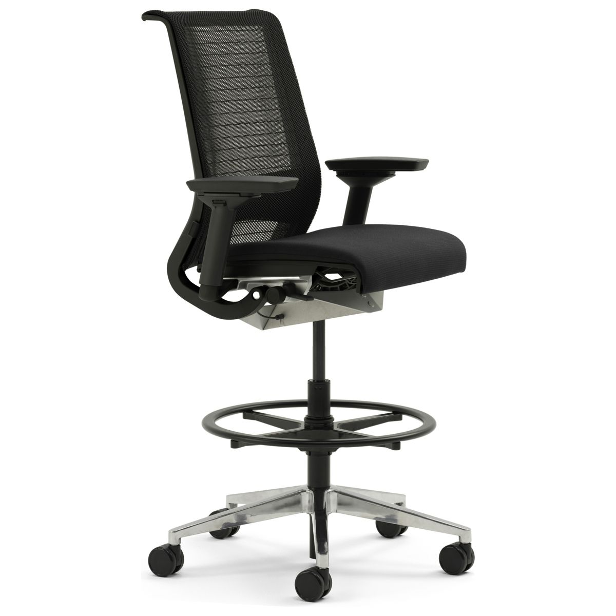 Steelcase Think Drafting Stool W 3d Knit Back Drafting Chair