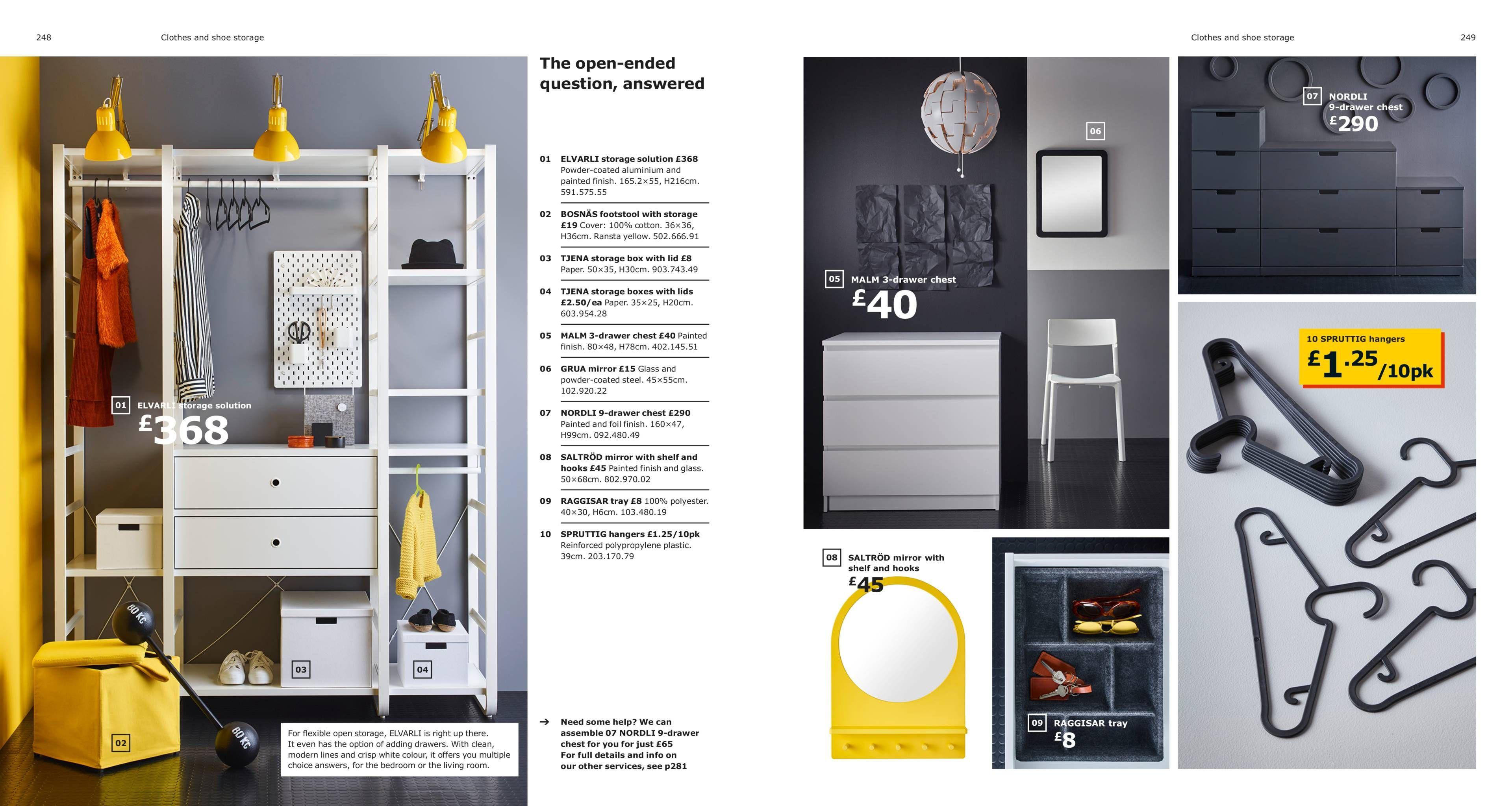 Clothes & shoe storage IKEA Catalogue 2019 Ikea