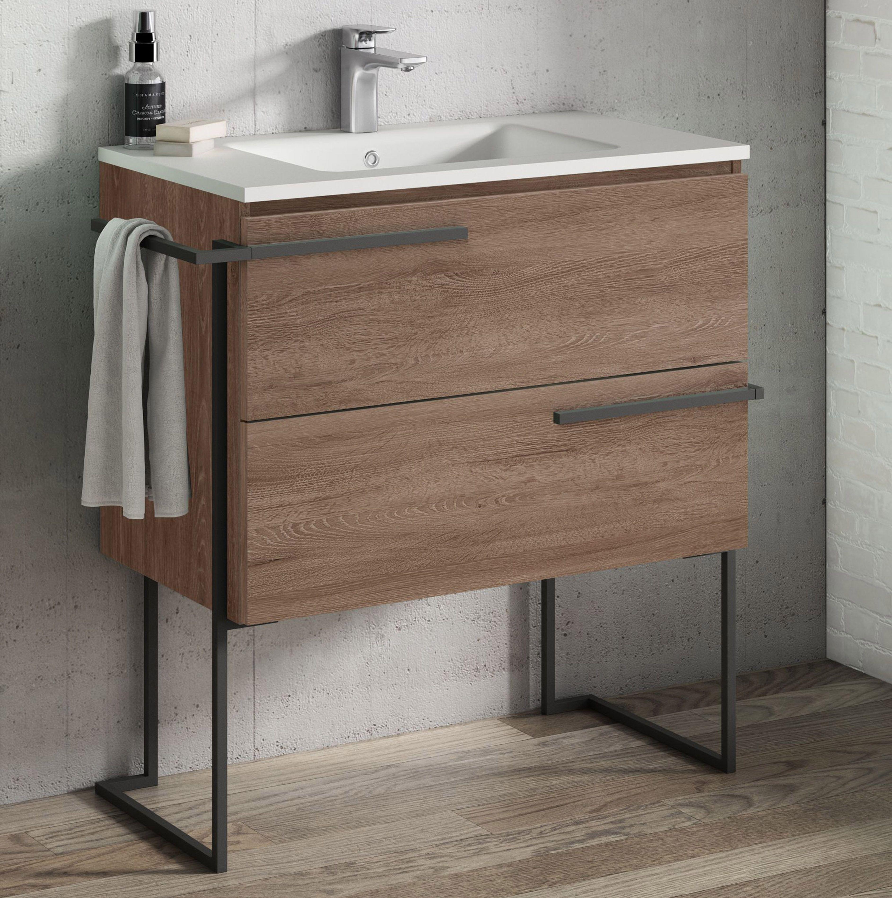 32 In 2021 Contemporary Bathroom Vanity Single Sink Vanity Vanity Sink