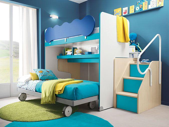 Camerette Doppie ~ Cameretta doppie colorate casa room