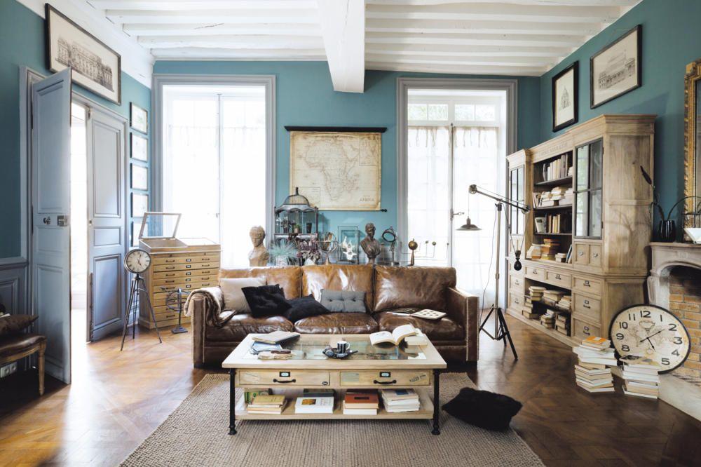 Zusammenspiel von Blau und Braun | Pinterest | Braun, Blau und ...
