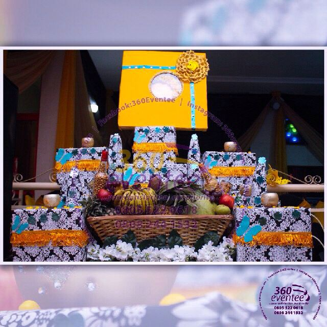 Traditional Nigerian Wedding Gifts: Eru Iyawo -Nigeria Yoruba