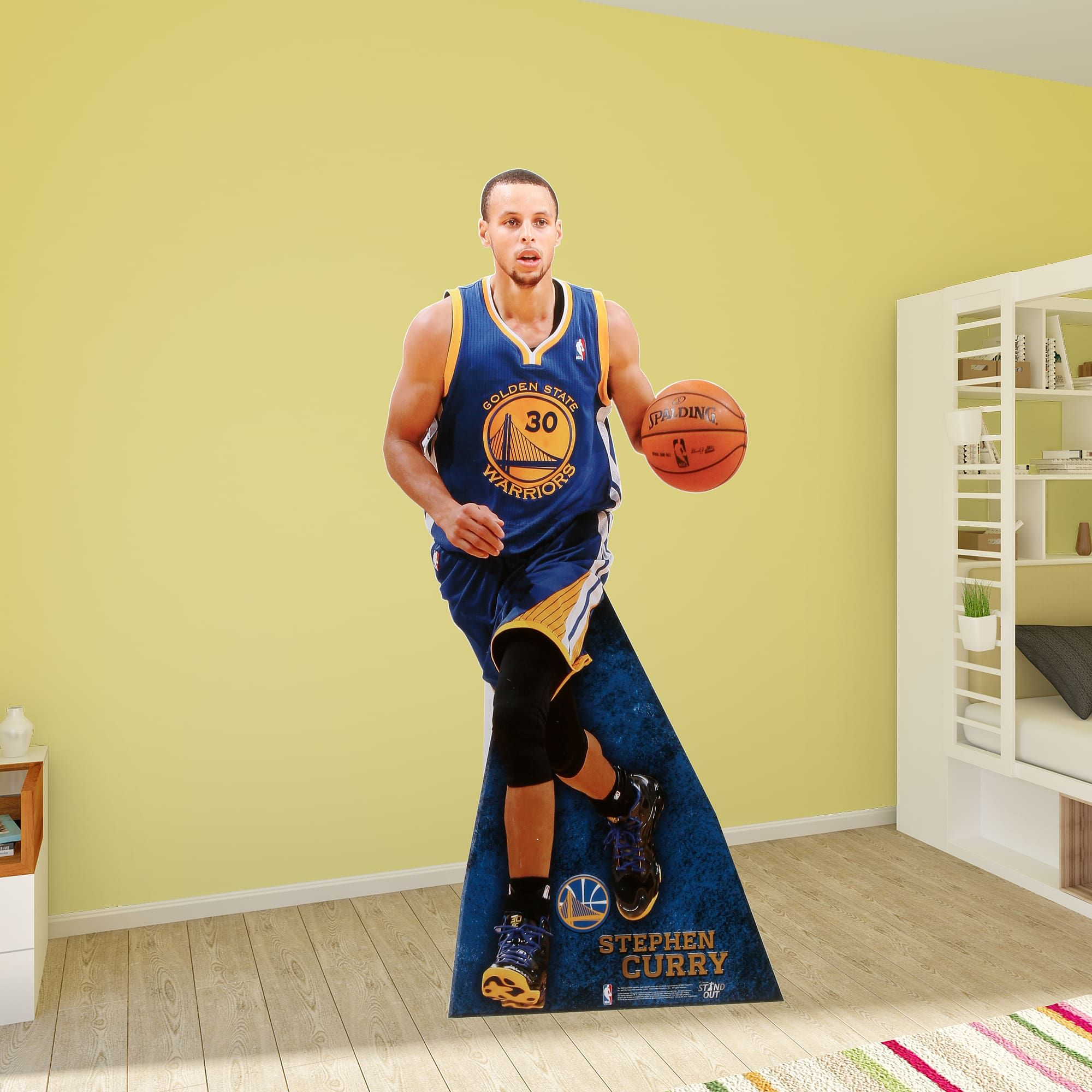 c9db5c08972 Show your passion with the Stephen Curry Life-Size Stand Out. Fathead Stand  Outs put flimsy cardboard cut outs to shame.