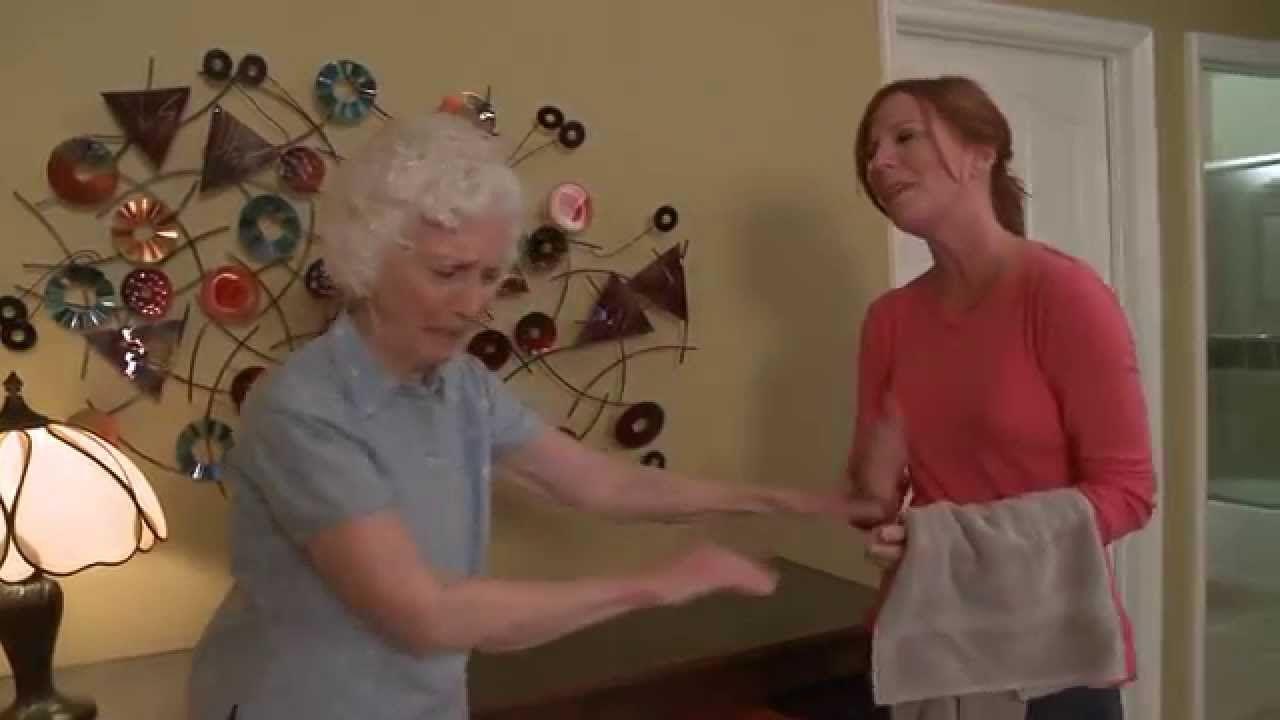 Caregiver training refusal to bathe ucla alzheimers