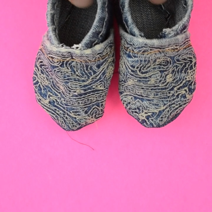 Photo of Free Baby Shoe Sewing Pattern: Upcycled