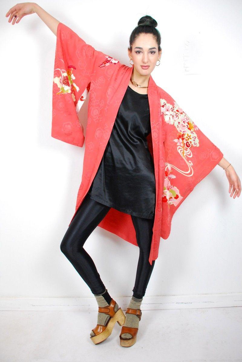 094ca74b1 Vintage 1930's Haori Jacket | My Style | Kimono fashion, Fashion ...