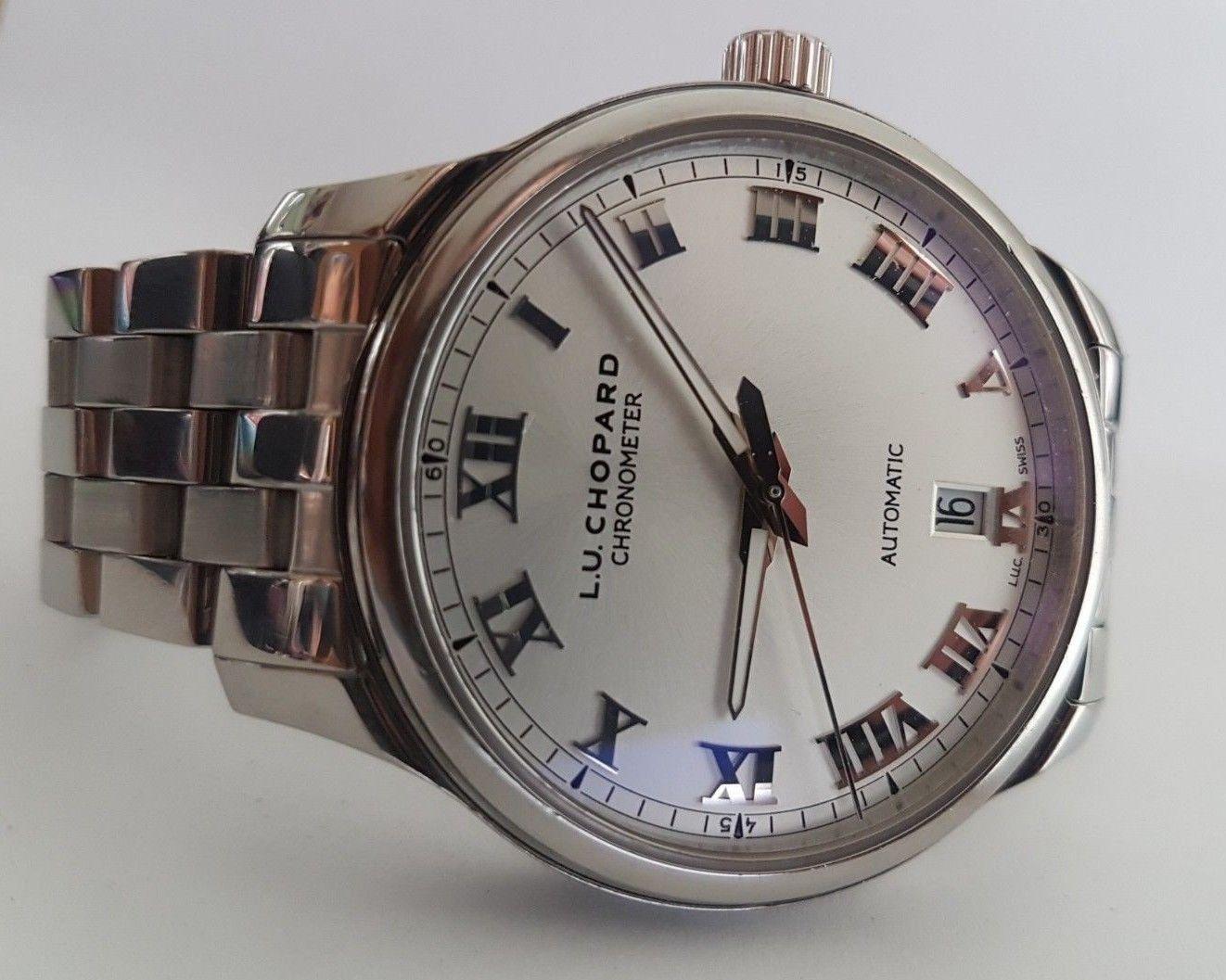 cab3a50be Chopard L.U.C 1937 SS Ref. 158558-3001 Automatic Short Bracelet wrist of  16,5cm