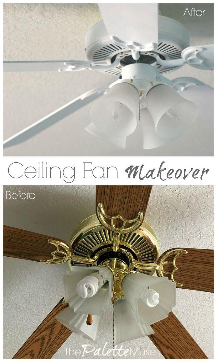 Ceiling Fan Makeover 100 Room Challenge Ceiling Fan Makeover