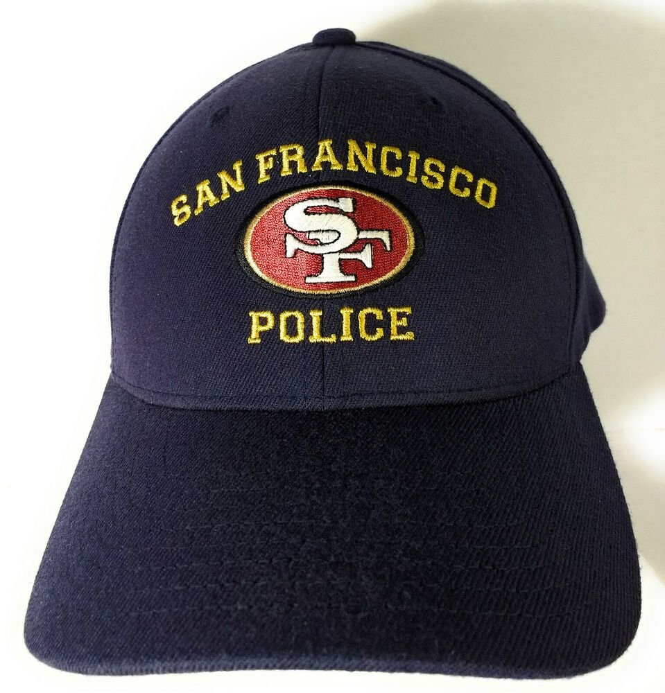 San Francisco Police SFPD Baseball Style Hat Cap Navy Blue