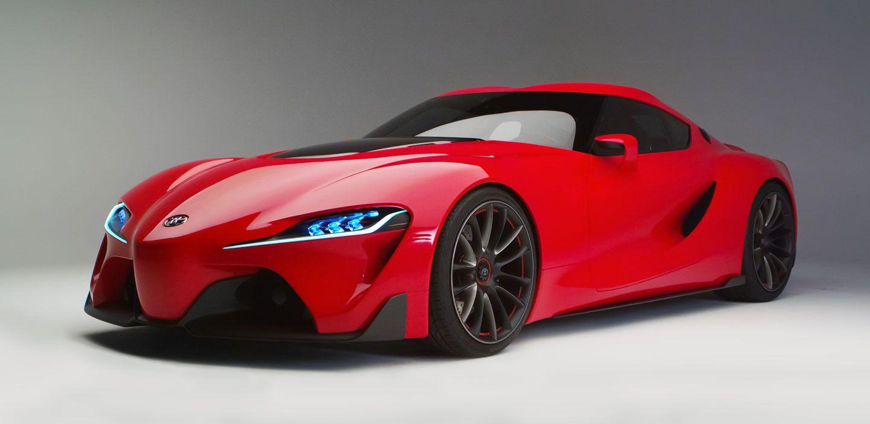 Toyota Supra FT-1 Exterior Concept | Toyota | Pinterest | Toyota and ...