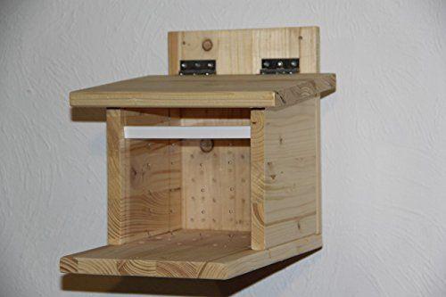 eichh rnchenfutterstation natur eichh rnchenhaus eichh rnchenfutterhaus eichh rnchen. Black Bedroom Furniture Sets. Home Design Ideas