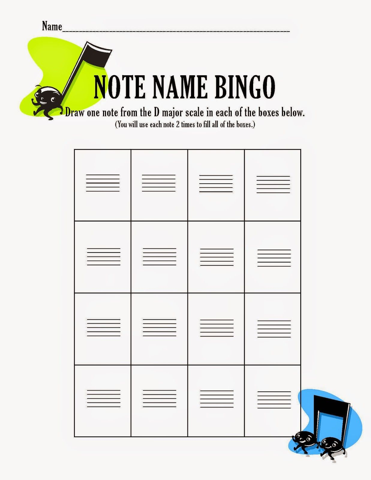 Review Game For Your Orchestra Band Choir Or Music