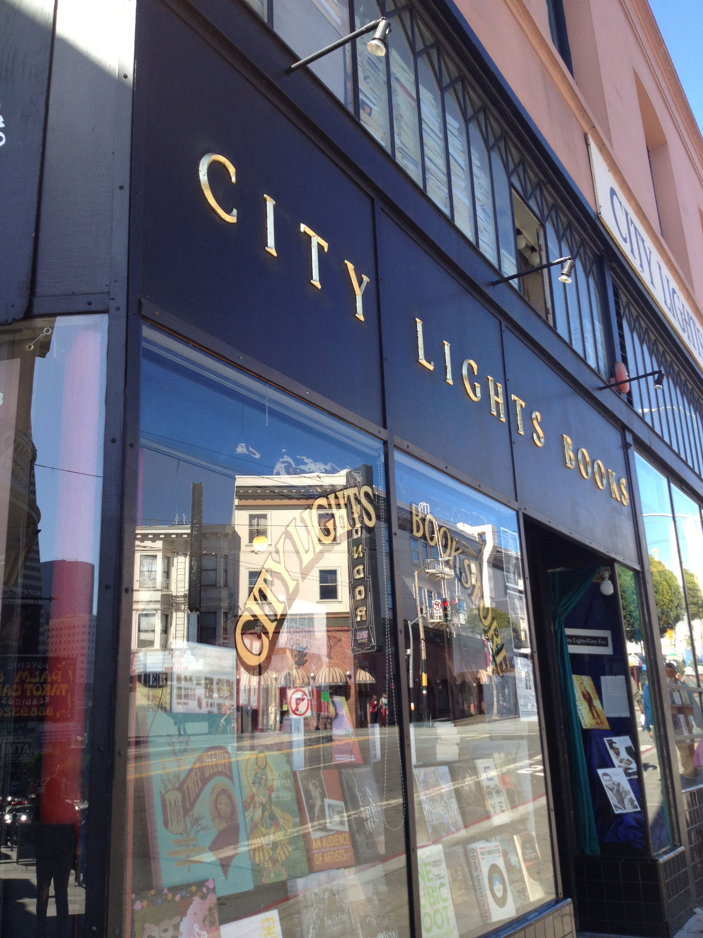 City Lights Bookstore North Beach San Francisco Home of the Beat