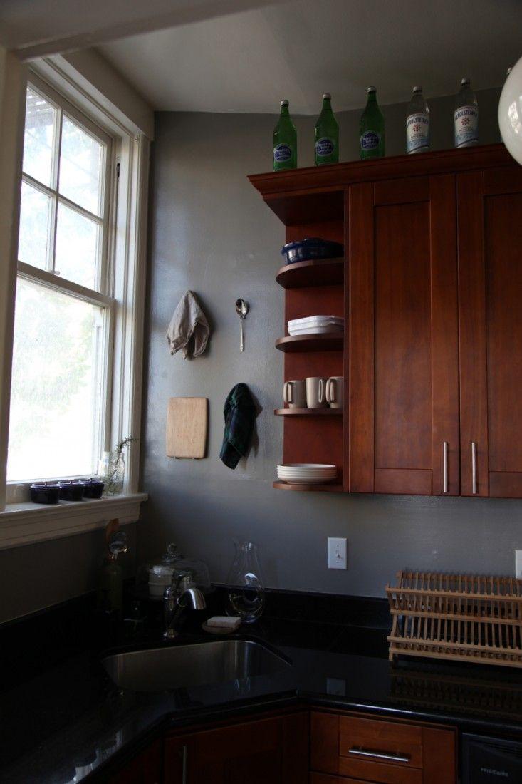 Rental Rehab Small Kitchen Makeover Remodelista Kitchen Remodel Small Kitchen Wall Cabinets New Kitchen Cabinets