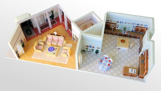 Do You Recognize this Famous Apartment Turned Dollhouse