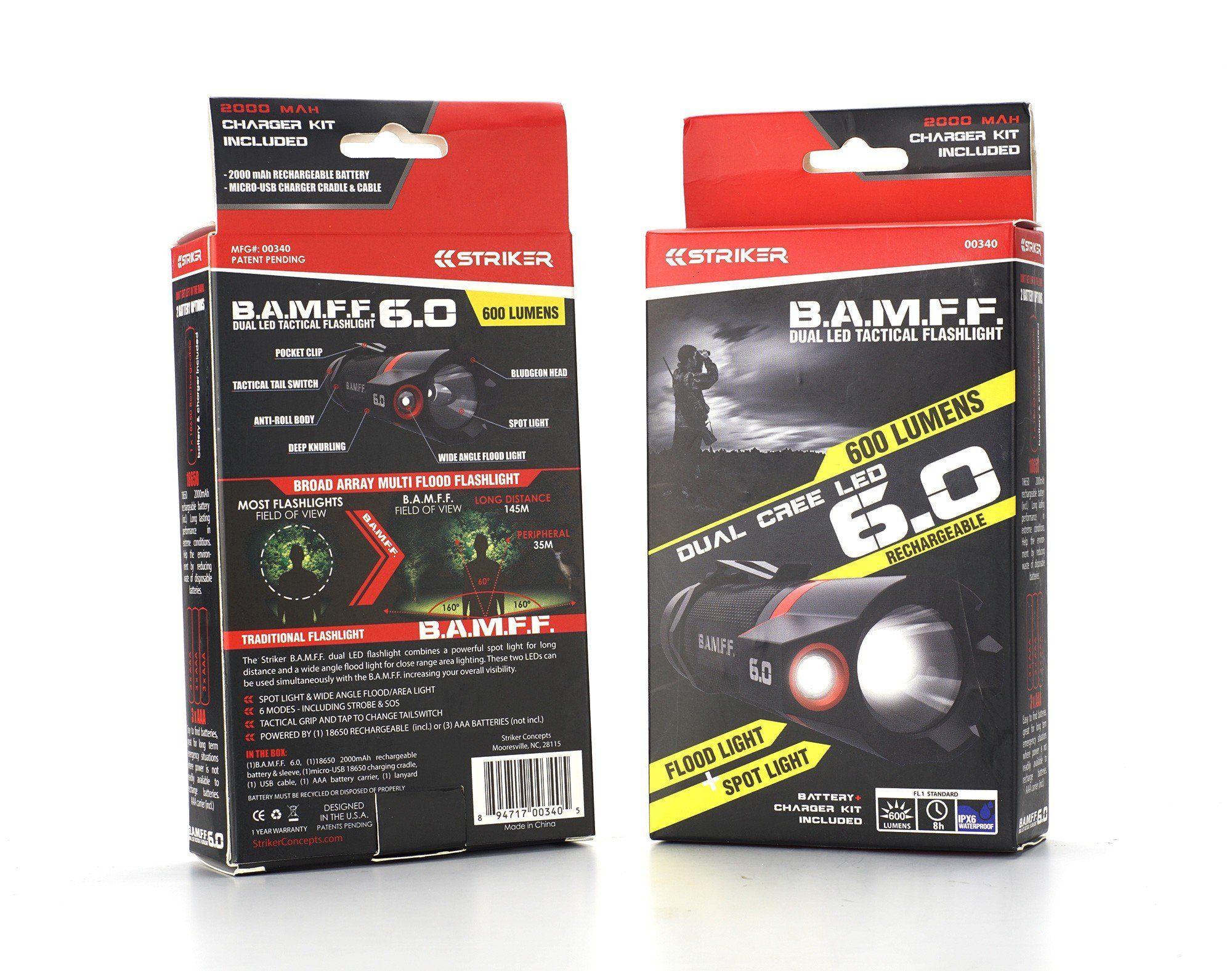 B A M F F 6 0 600 Lumen Dual Led Flashlight Flashlight Led