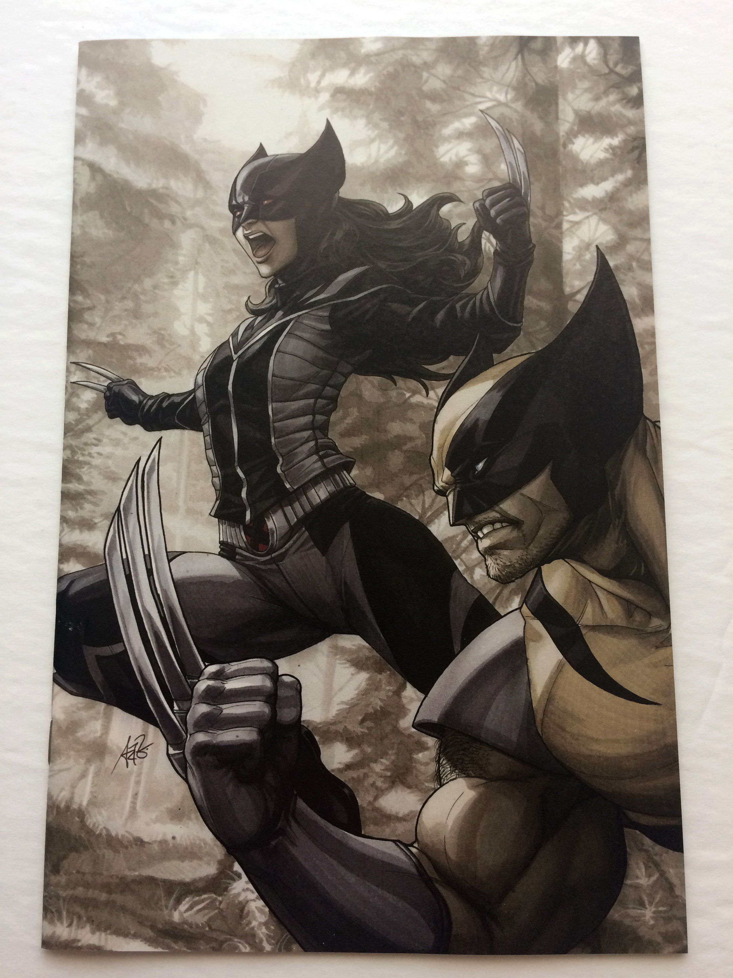Generations Wolverine All New #1 Stanley Artgerm Lau Fan Expo Virgin ...