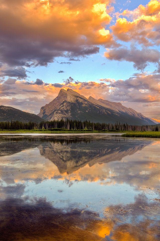 75 Free Retina Display Iphone Wallpapers Mountain Landscape Scenery Mountain Wallpaper