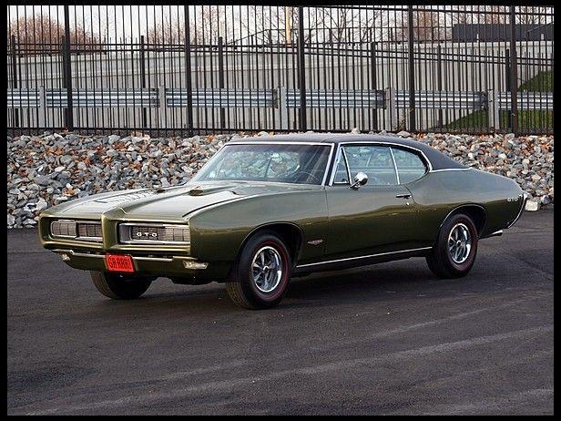1968 Pontiac Gto 400 Ci Automatic Cars I Love 1968