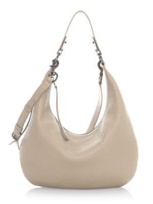REBECCA MINKOFF Michelle Leather Hobo Bag bags