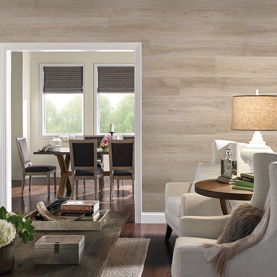 Lowes Lam. Floorcovering on walls Flooring on walls
