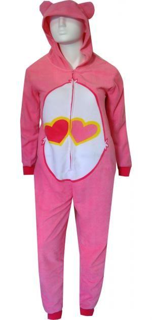WebUndies.com Care Bear Love A Lot Bear One Piece Pajama  d68785f75