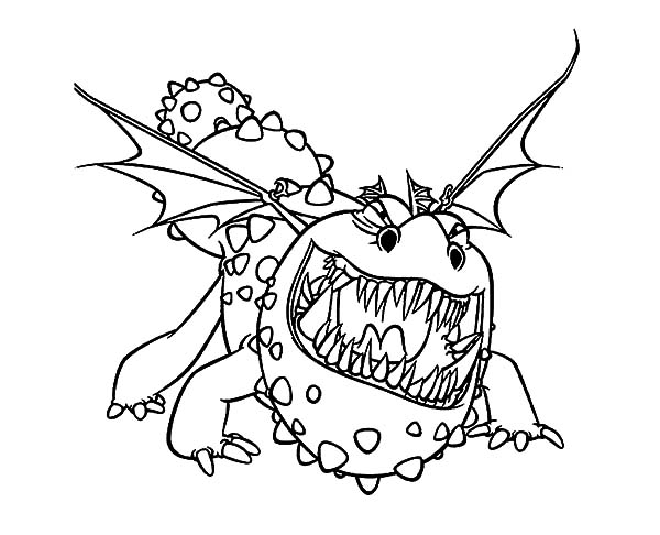 How To Train Your Dragon Growling Gronckle Coloring Pages : Coloring Sky How  Train Your Dragon, Dragon Coloring Page, How To Train Your Dragon
