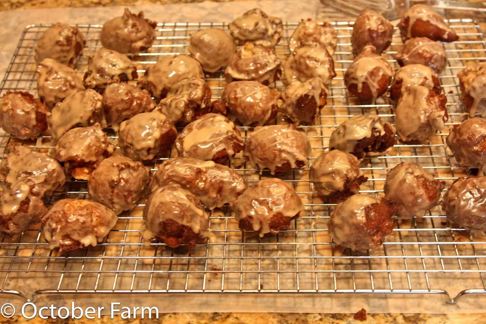 Apple fritters with maple glaze apple fritters maple