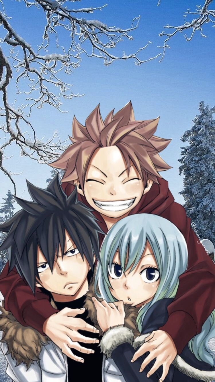 Fairy Tail Gray Wallpaper Iphone Fairytail Natsudragneel