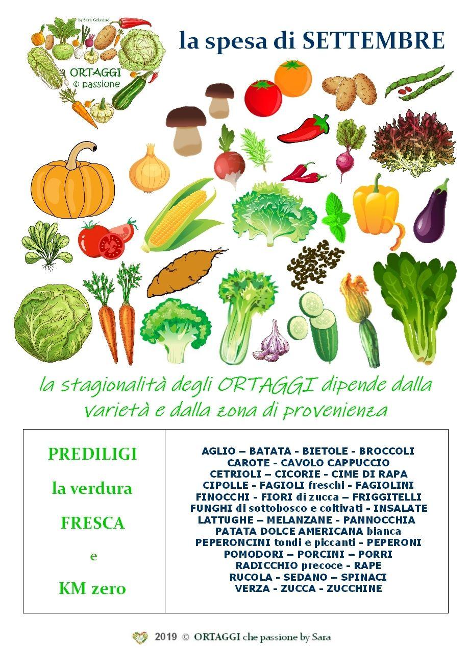 Fiori Di Stagione Settembre settembre calendario verdura di stagione   verdure autunnali